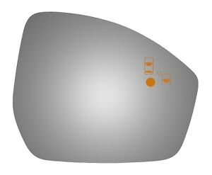 Burco 5746bc Right Side Mirror Glass For 15 16 Land Rover Discovery Sport