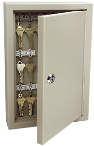 Key Lock Box Cabinet Locking Combination Steel Safe Wall Mount Storage Secure