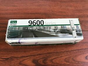 New Hes 9600 12 24 630 Assa Abloy Electric Strike 24v dc Stainless Steel Surf
