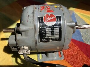 Atlas Metal Lathe drill Press Motor 1 2hp 115volts 1725rpm