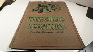 Hercules Engines Hit And Miss Gasoline Kerosene And Oil Catalog Brochure No 10