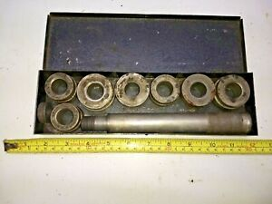 Vintage Blue Point A 158 Heavy Duty Bushing Driver Set A 158 Complete Snapon