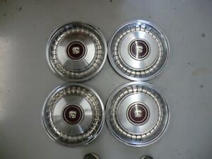 Cadillac Hubcaps Wheel Covers 15 Inch