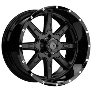 Tuff T 15 20x10 8x165 1 8x6 5 19mm Satin Black Wheel Rim