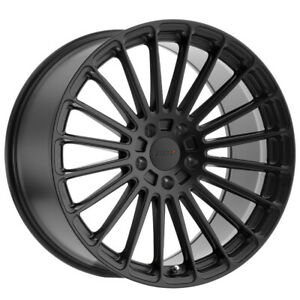 Tsw Turbina 19x9 5x120 15mm Matte Black Wheel Rim