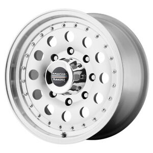 4 American Racing Ar62 Outlaw 2 15x7 5x5 6mm Machined Wheels Rims 15 Inch