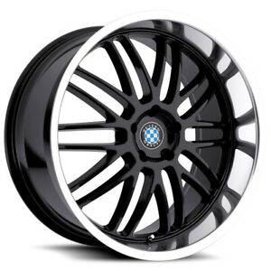 Beyern Mesh 19x8 5 5x120 15mm Gloss Black Wheel Rim