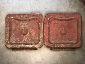 Original Toolbox Lids Cover Ford Gpw Willys Mb Ww2 Jeep