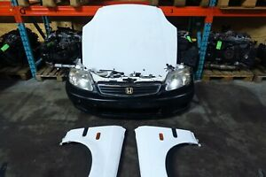 Jdm 99 00 Honda Civic Ek3 Front Nose Cut Bumper Headlights Ek9 Ek4 Sir