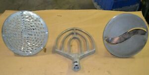 Set Of Food Processing Heads Paddle Blade Grater For Hobart