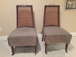 Round 60 Solid Wood Pedestal Conference Dining Game Table With 6 Cane Chairs