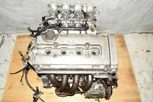 Jdm Honda Civic B16a Dohc Vtec 1 6l Obd1 Sir Engine Wires Itb Intake Hks Exhaust