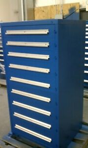 9 Drawer Vidmar 59x30x28 All Cabinets Are Fully Refurbished