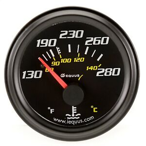 Equus 6232 6000 Series Water Temp Gauge