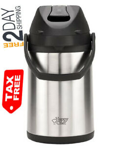 Happy Chef Airpot Coffee Thermal Dispenser 2 5l Kitchen amp Dining