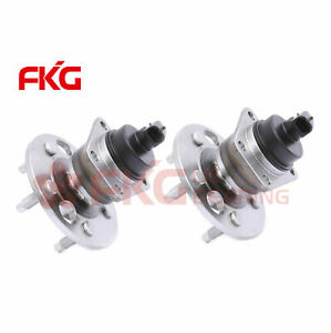 Rear Wheel Hub Bearings W Abs Pair For Buick Cadillac Chevy Olds Pontiac 512001w