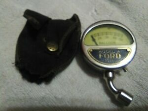 Rare Original Condition Moto Meter Tire Gauge Model A Ford Tool Kit Item