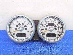 June 2005 Bmw Parts Mini Cooper Speedometer Tachometer 02 07 2003 2006 2007 2002