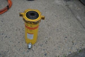 Enerpac Rch 306 30 Ton Hollow Hydraulic Cylinder 6 Stroke Usa Made