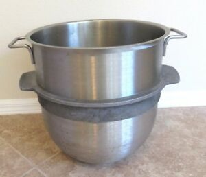 40qt Stainless Steel Bowl For Hobart Mixer R40 29m 17 Tall 16 Diameter