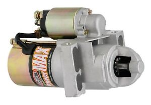 Powermaster Powermax Starter Original 168 Chevy Ram Jet 350 502 Staggered 160 Lb