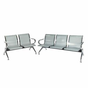 2 3 seat Airport Waiting Room Chair Office Reception Bank Hospital Clinic Salon