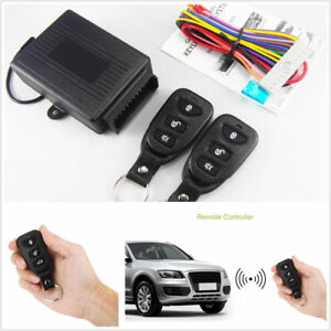 Universal Car Remote Control Alarm Keyless Entry System Anti Theft Door Lock