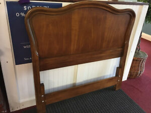 Vintage Twin Size Headboard French Provincial Style Headboard White Furnitur