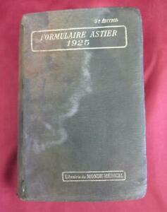1925 Vintage French Medical Book Medical Therapy
