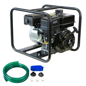 On Sale was 299 99 Water semi trash Pump With Hose Kit Dirty Hand Tools