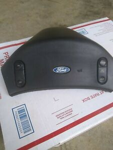 1992 1997 Ford F 150 Steering Wheel Horn Pad Cruise Control Oem
