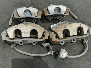Complete Set Front Rear Lh Rh Brake Caliper Calipers Pontiac Gto Ls1 2004 04