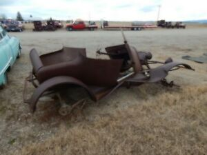 1923 1925 Model T Ford Coupe Rat Rod t Bucket