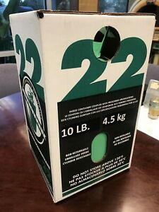 R 22 Refrigerant 10lb Usa New Sealed Cylinder Free Shipping Cont Us Ak