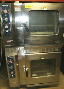 Alto Shaam Model 7 14 Mlgs Double Stack Natual Gas Combitherm Steamer Combi Oven