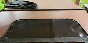 2009 Jeep Wrangler Unlimited Soft Top Tinted Rear Liftgate Window Used