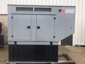 New 30 Kw Generator Natural Gas Propane Psi 4 3 120 208 240 480 40 Kw Enclosed
