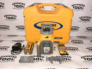Trimble Spectra Precision Ul633 Universal Laser Level W Rc603 Remote Hl750 Rx