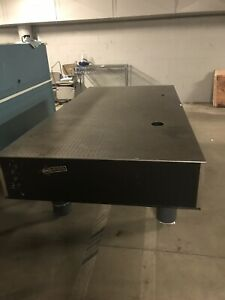 Nrc Newport Research Series Plus Industrial lab 96x48x12 Optical Table Top