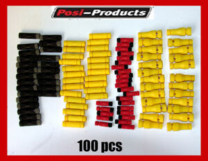 100 Pack Posi tap 10 12 12 18 18 24 Gauge Wire Tap Connectors Posi lock Kit