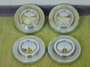 1961 Buick Dog Dish Hub Caps 9 1 2 Set Of 4 Poverty 61 Hubcaps