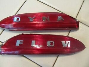1950 1951 1952 Buick Dyna Flow Trunk Ornament Inserts Nos Mib