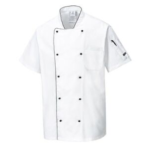 Portwest C676 Aerated Chefs Jacket Kitchen Catering Uniform