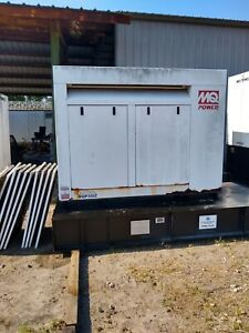 Multiquip Mq Power 30 Kw Diesel Generator 216 Hours Single Phase Isuzu