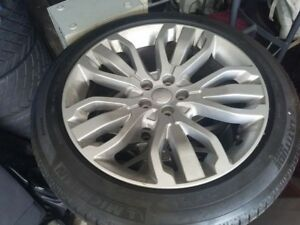 Oem Land Rover Range Rover Sport 21 Style 507 Grey Alloy Wheel And Tires