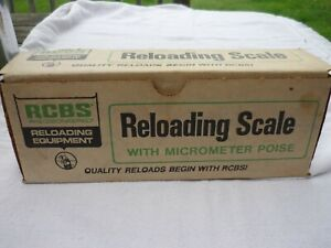 RCBS 5-10 Reloading Powder Scale with Micrometer Poise