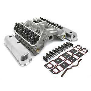 Fits Ford Sb 289 302 Windsor Hyd Ft Cylinder Head Top End Engine Combo Kit