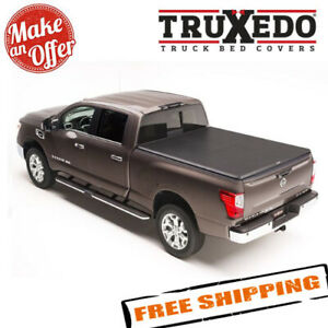 Truxedo 288901 Truxport Tonneau Cover For 16 19 Nissan Titan Xd W Track Sys 6 6