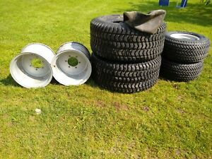 Wheels And Tires From Massey Ferguson 1455