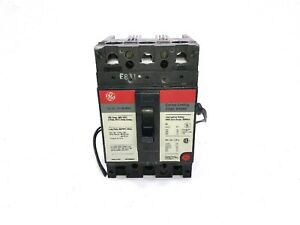 General Electric Tel136100wl 100a 3 Pole 600v Current Limiting Circuit Breaker